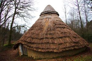 iron age hut