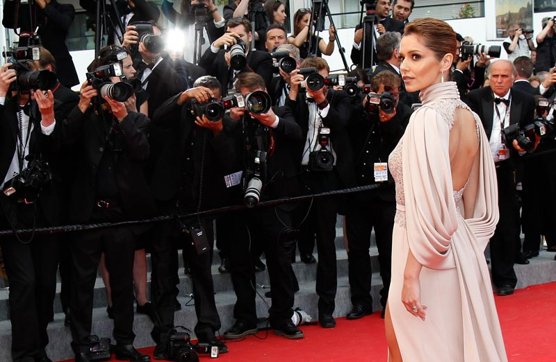 Broadsheet picture editor choice from Cannes red carpet